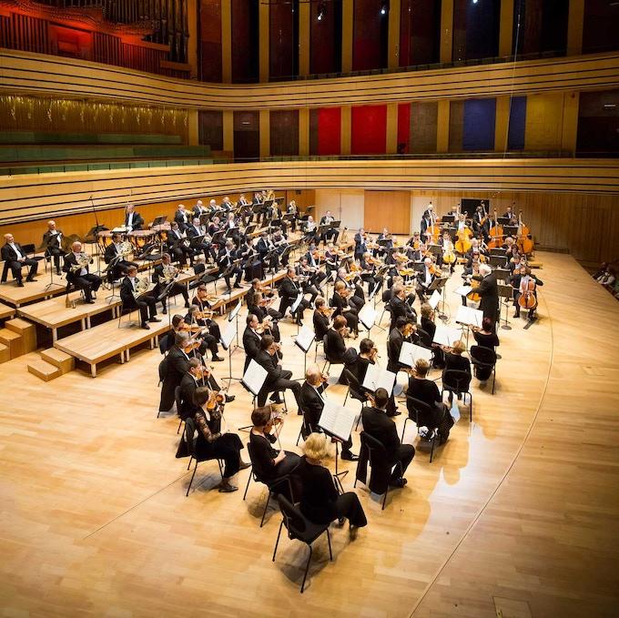 the Budapest Symphony Orchestra