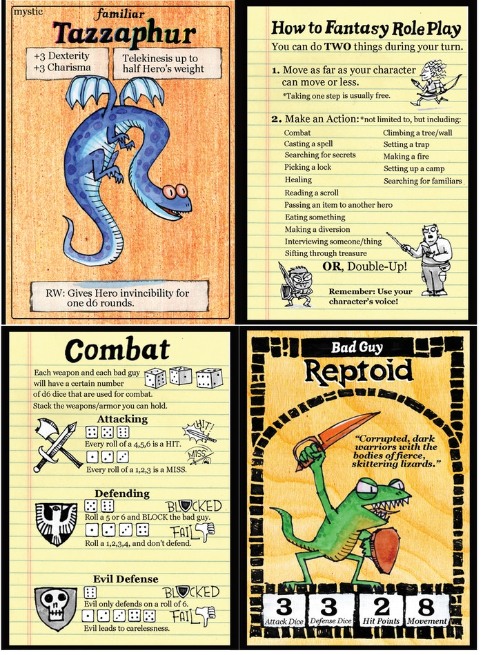 Scales & Tales, an RPG for all ages by Kevin Sherry » August