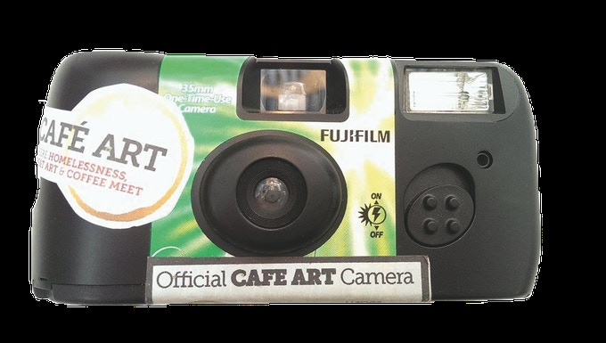 100 Fujifilm single use cameras were given out on 21 June