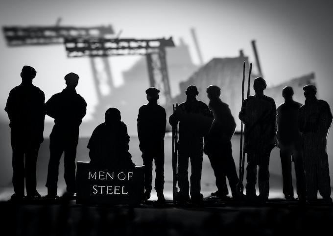 Sarah Barnes – 'Men of Steel' – Wales