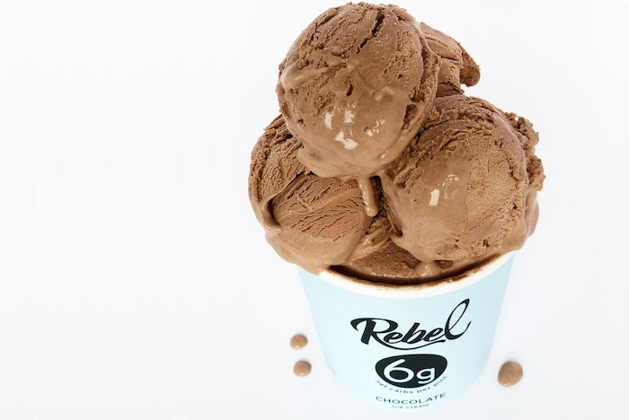 Rebel ice cream low carb high fat keto no sugar added by rebel low carb high fat no sugar added ice cream using keto friendly ingredients ccuart Image collections