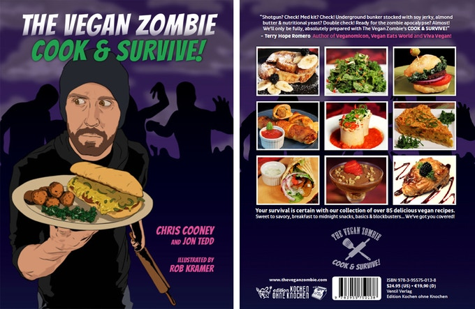 The Vegan Zombie - COOK & SURVIVE cookbook e-book
