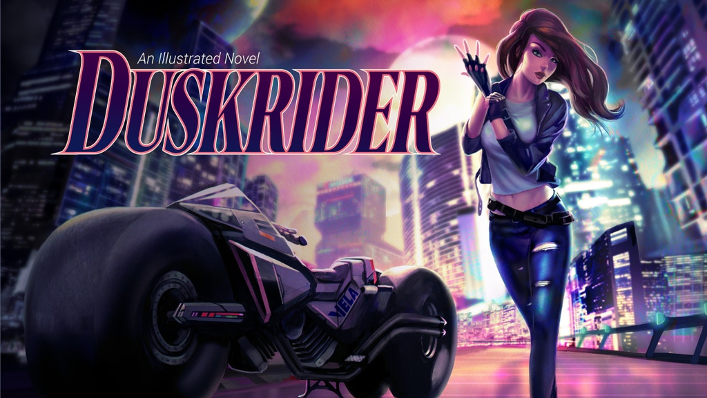 Duskrider, Vol. 1: An Illustrated Novel project video thumbnail