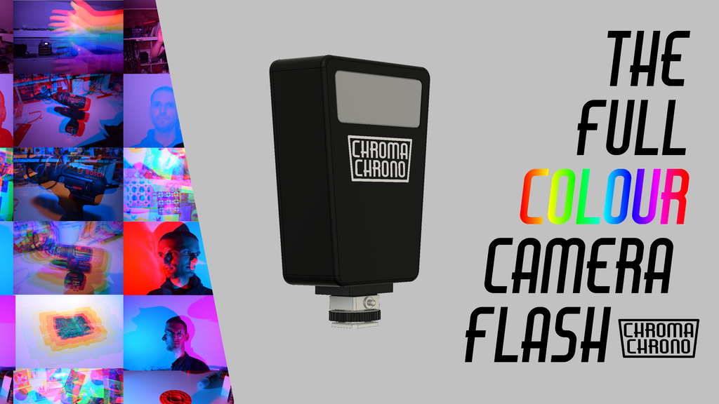 Project image for Chroma Chrono - The Multi Colour Programmable Camera Flash