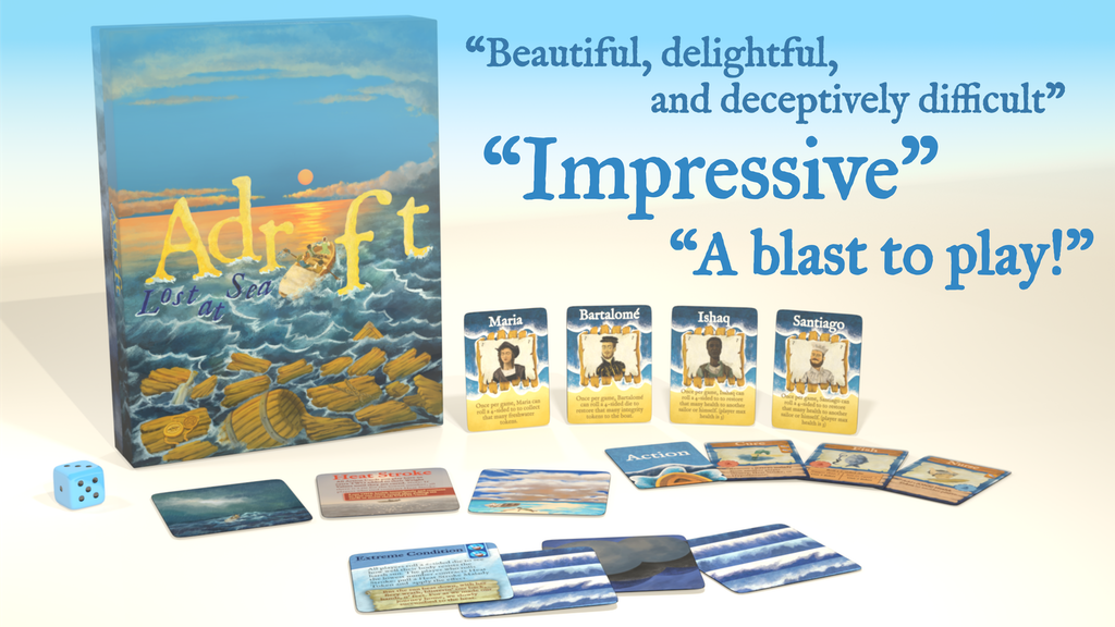 Adrift: Lost at Sea; A shipwrecked-shanty-singin' card game!