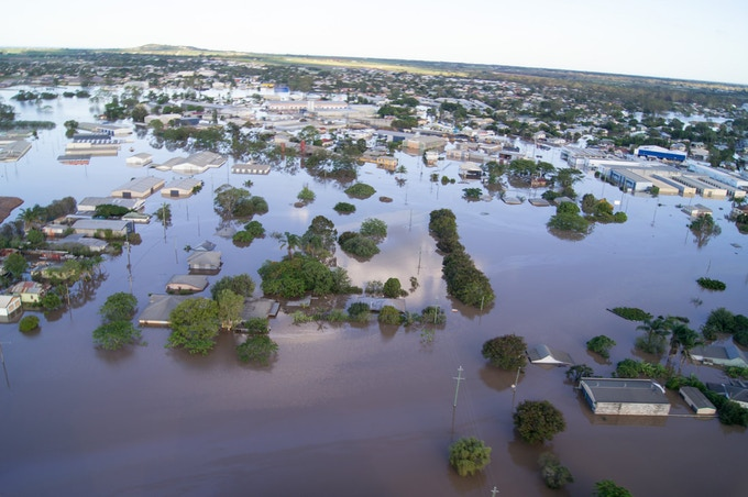 Flooding from rains or hurricanes can shut down a city indefinitely.  How long could your family last?