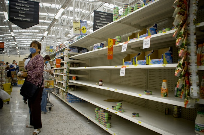 When disaster strikes, will YOU get to the stores in time before everyone else does?