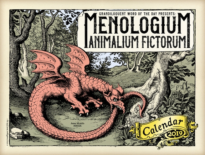 Grandiloquent Word Of The Day 2019 Calendars By Grandiloquent Word