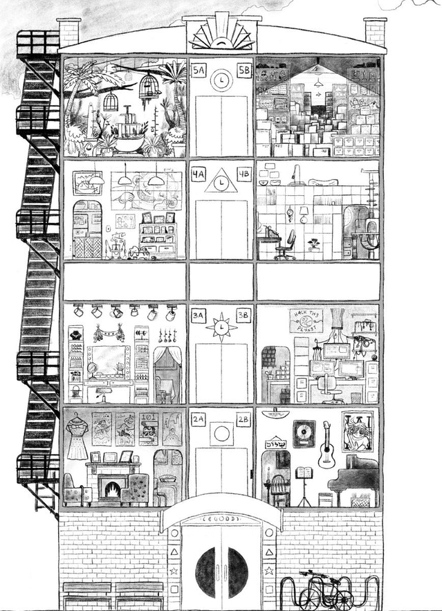 1300826c The completed layout sketch for