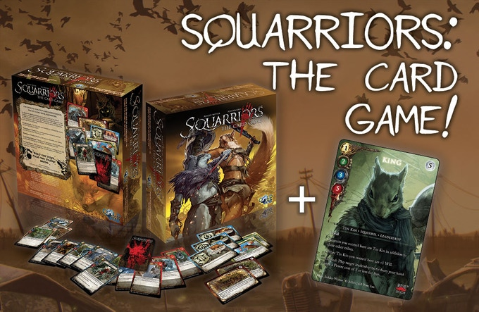Exclusive King Devil's Due Comics variant card - only available with the Squarriors: The Card Game reward offered through this Kickstarter!