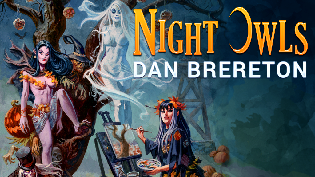 NIGHT OWLS - a Deluxe Edition Art Book by Dan Brereton project video thumbnail