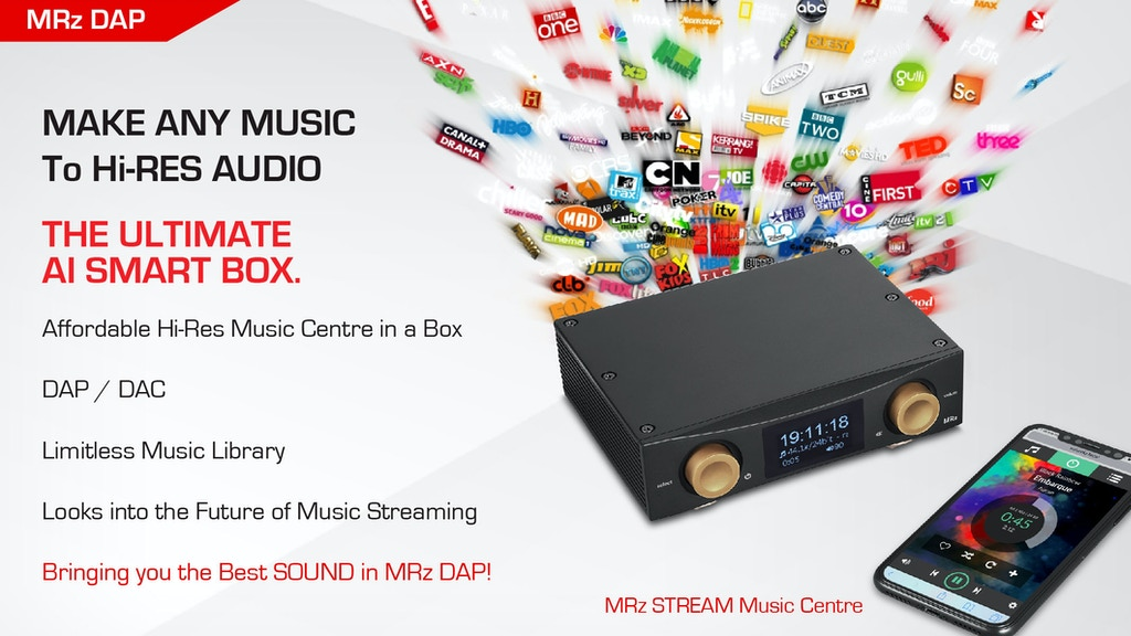 MRz: UHD Music Server as the digital hub in a high-end audio