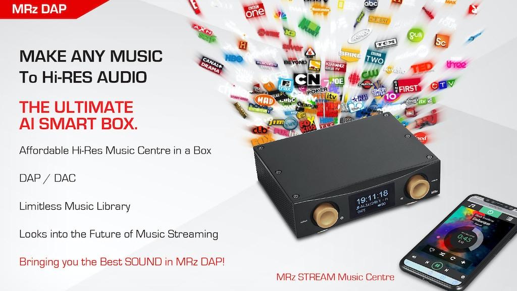 MRz: UHD Music Server as the digital hub in a high-end audio
