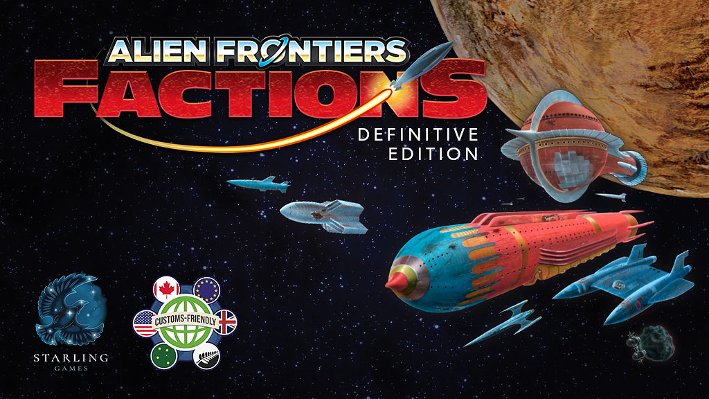 Alien Frontiers: Factions Definitive Edition