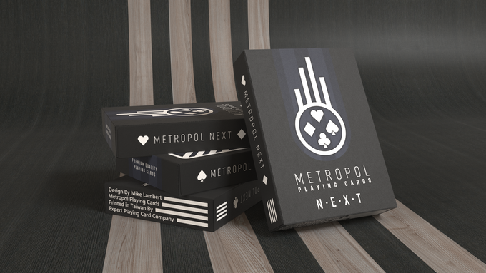 The Metropol NEXT deck, printed by Expert Playing Card Company