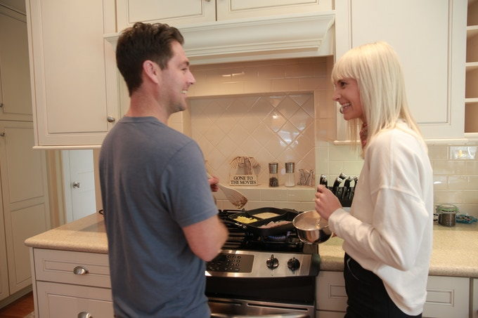 Couples can now enjoy the simplicity of cooking