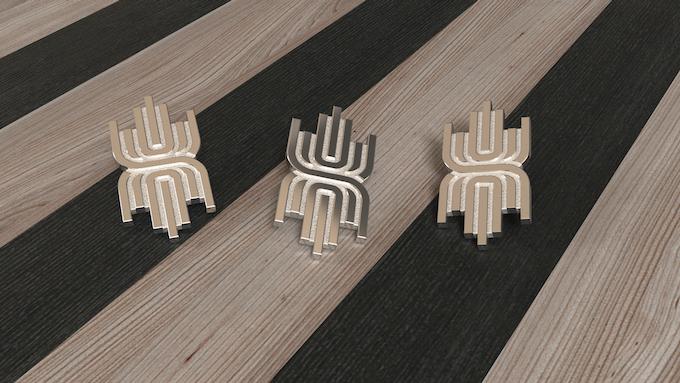 Feel like a king wherever you go!  The Metropol NEXT king lapel pin