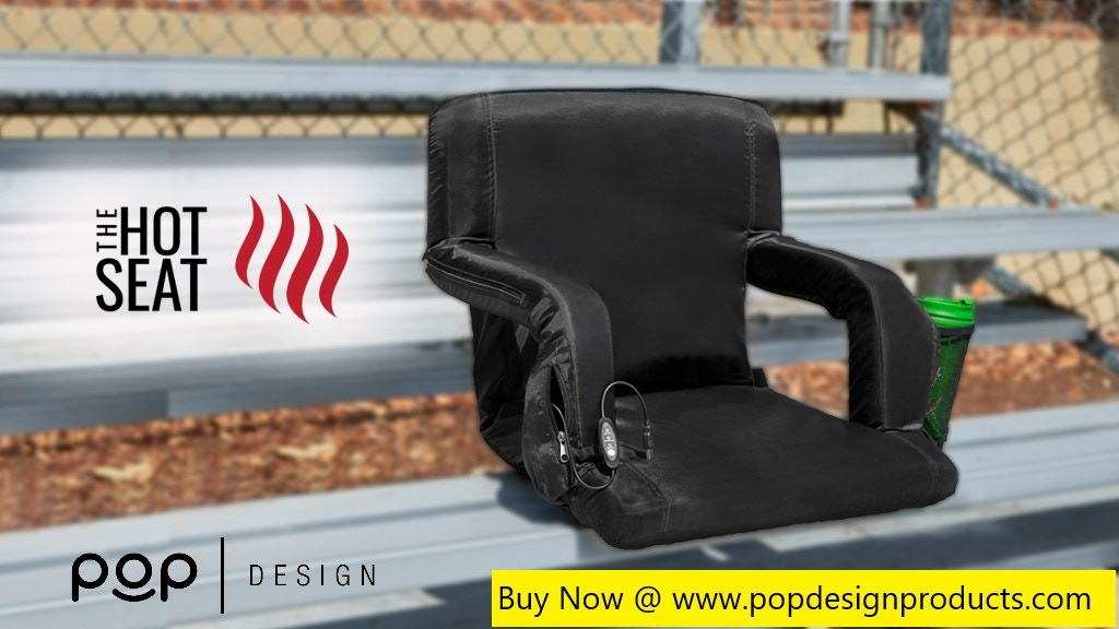 The Hot Seat - World's First USB Heated Stadium Chair project video thumbnail