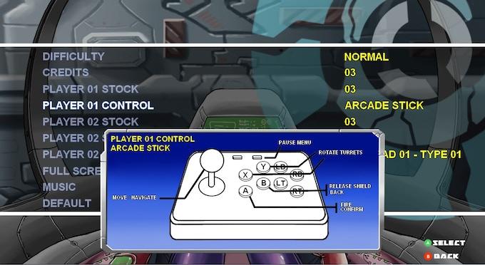 Arcade stick preset added recently