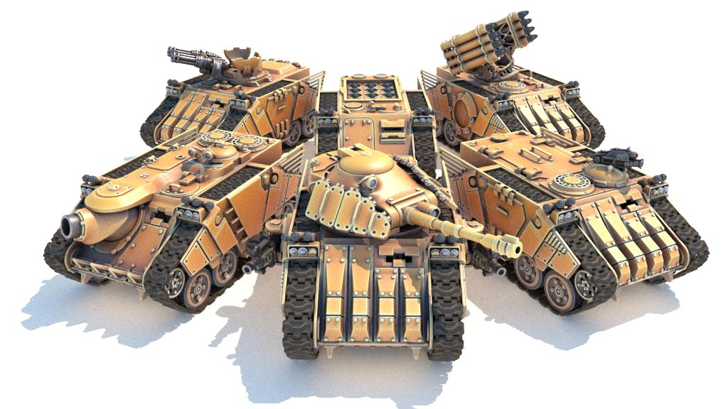 MAV3RICK - Modular 3D Printable Tank Kit in 28mm Scale project video thumbnail