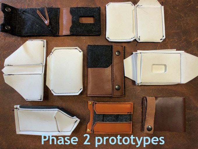Phase 2 prototypes