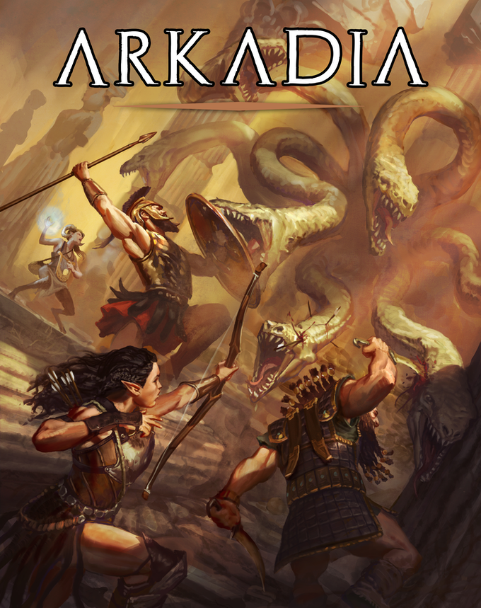 Arkadia: The Mythic Greek Setting for 5e by Arcana Games