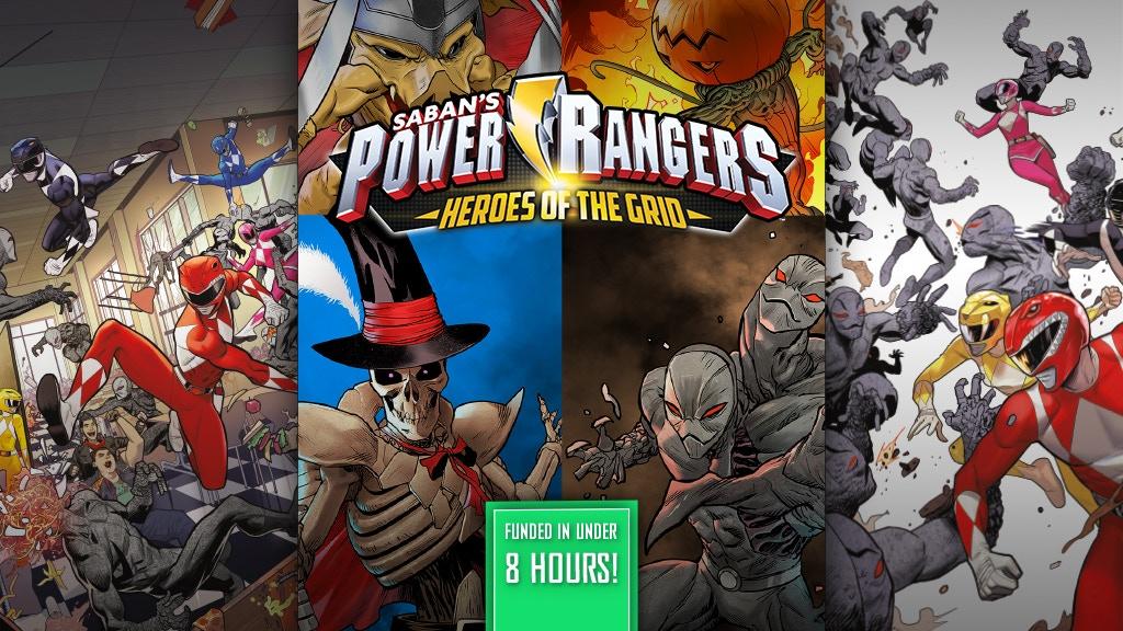 Power Rangers: Heroes of the Grid Board Game
