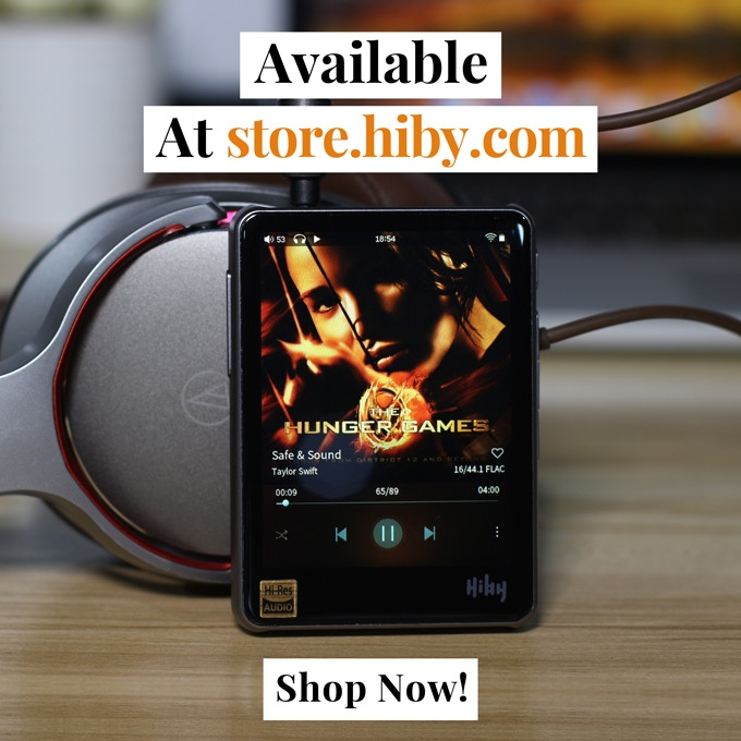 HiBy R3:Ultraportable Touchscreen Hi-Fi Network Music Player by HiBy