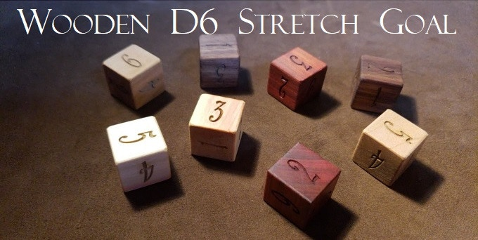 Just a few possibilities of a wooden d6...