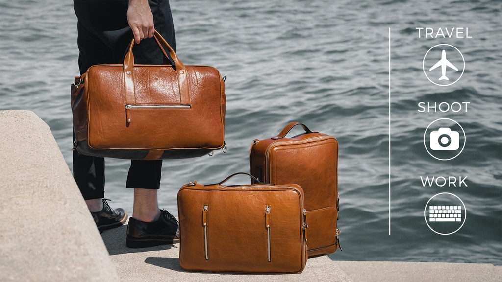 The Union Collection: Versatile Travel & Business Bags project video thumbnail