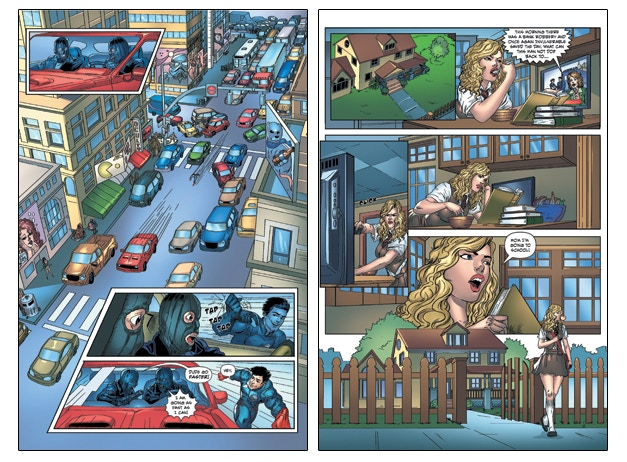 Interior Pages from Issue #1