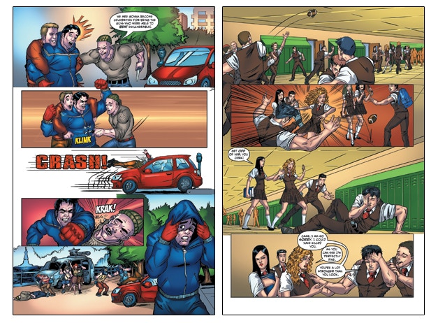 Interior Pages from Issue #2