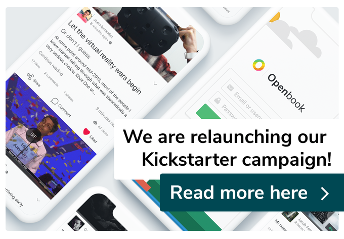 We are relaunching our Kickstarter campaign. Click the image to read more.