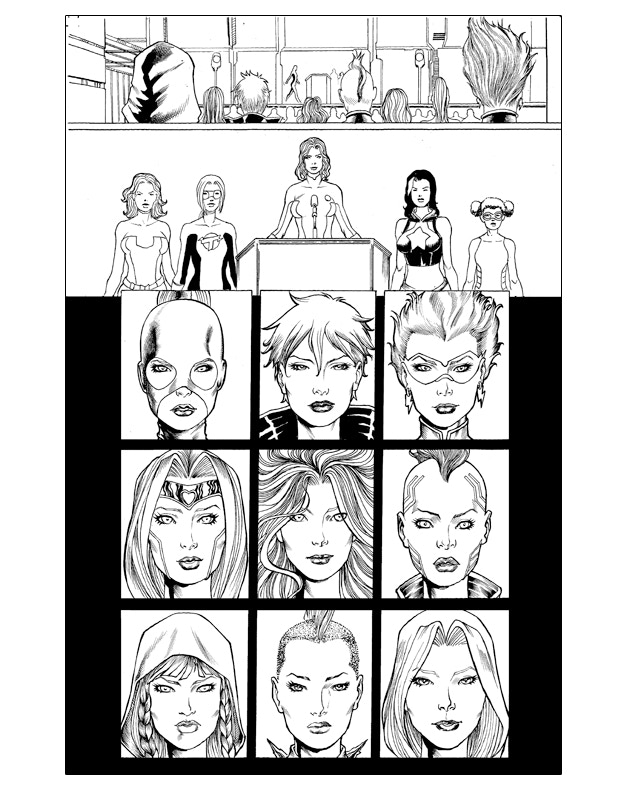 Unreleased Story Interior Page
