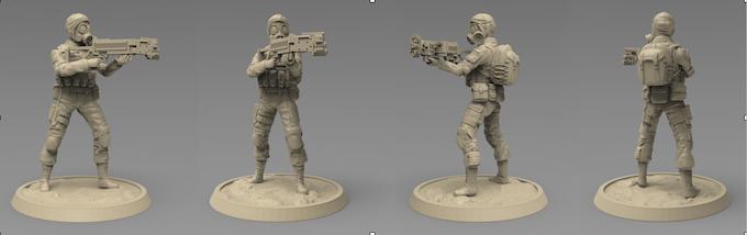 Anti terror - corner gun