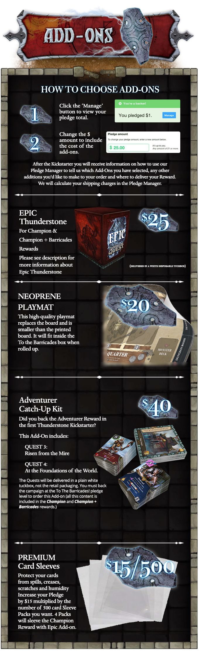 Thunderstone Quest Back to the Dungeon from AEG by Alderac