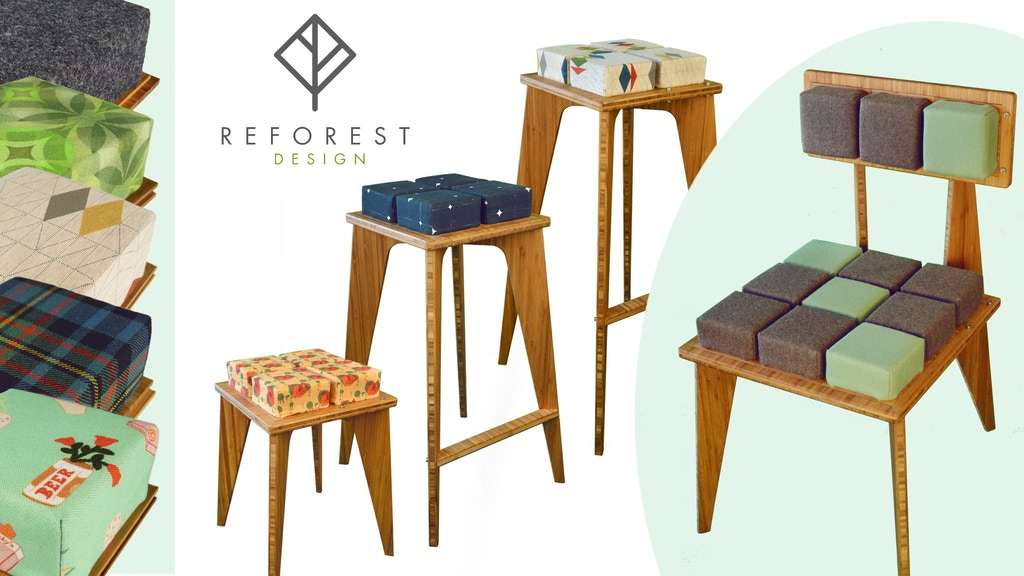 100% Sustainable (wood-free) & Customizable Furniture