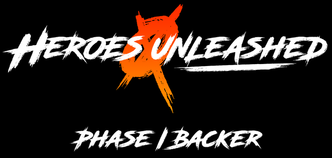 Kickstarter exclusive Heroes Unleashed Phase I Backer design.