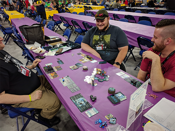 Building another unique world map at GenCon 2018!
