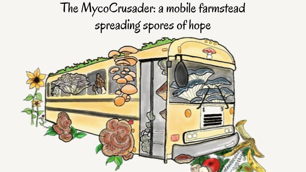 Mycocrusader: a mobile homestead focused on fungi. project video thumbnail