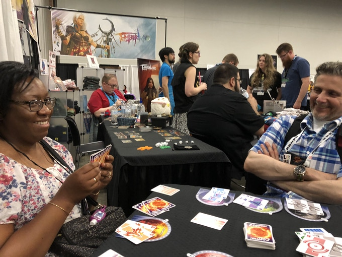 A new player dominating the sector at Origins 2018!