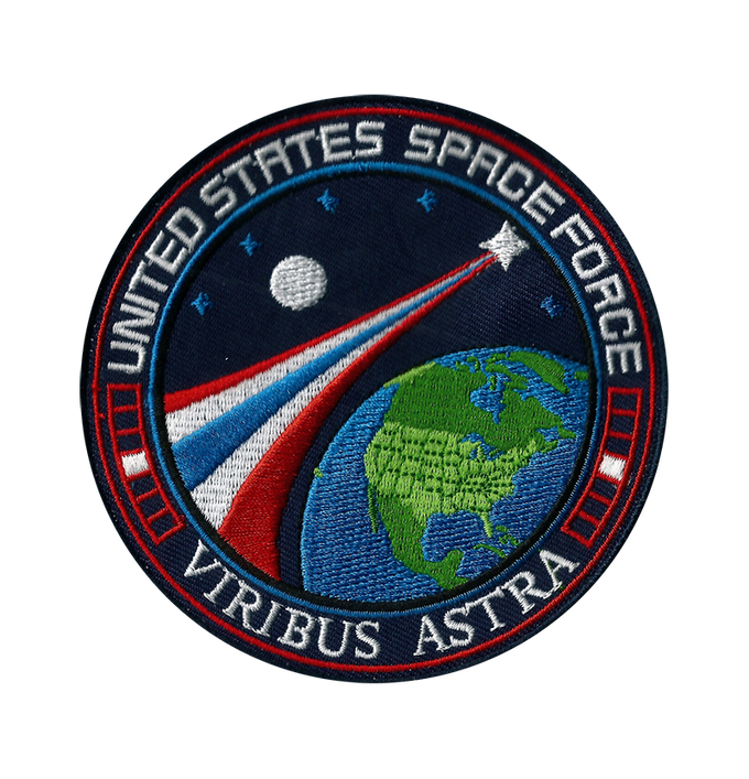 Space Force Patch Mission Patch USSF by Carl Huber ...