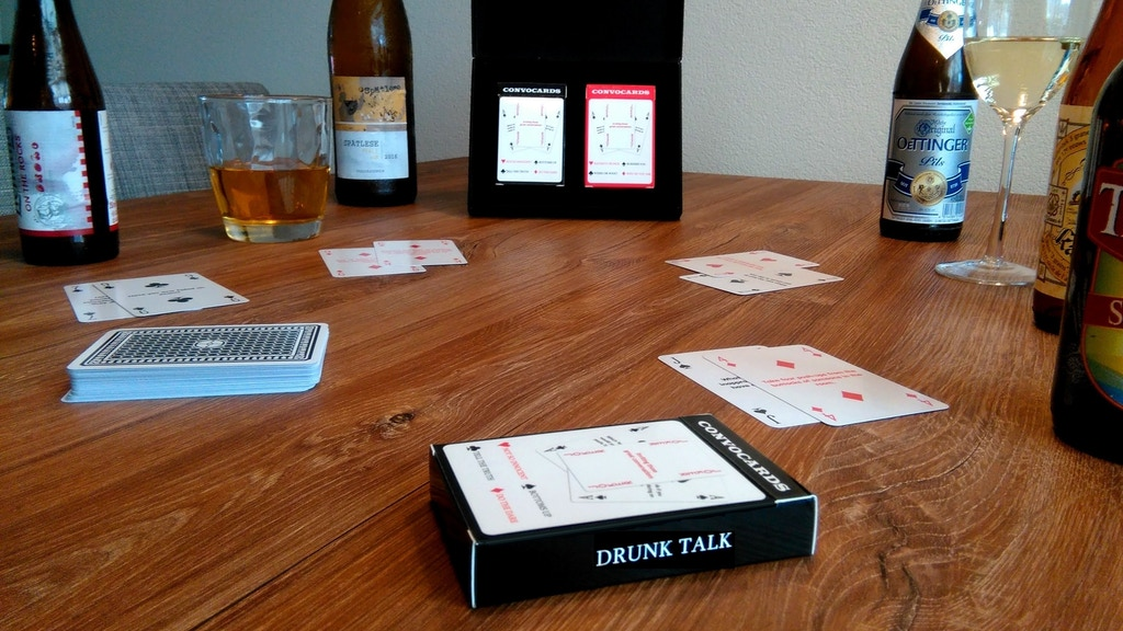 Drunk Talk - Turn any card game into a drinking game