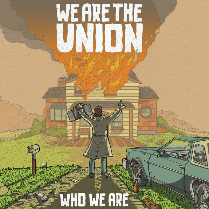 Who We Are LP Front Cover (brought to you via a partnership with Bad Time Records)