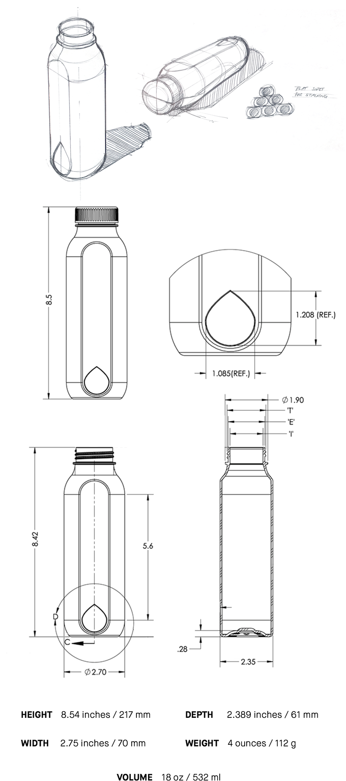 Cupanion—the world's most empowering reusable bottle by