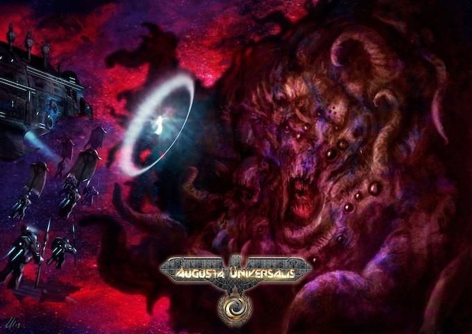 Livia Comnena Akiko Augusta scaccia un Trono Oscuro nell'orbita superiore di Persephone, sistema stellare di Sylde