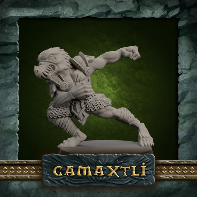 SAURUS 1 - Camaxtli