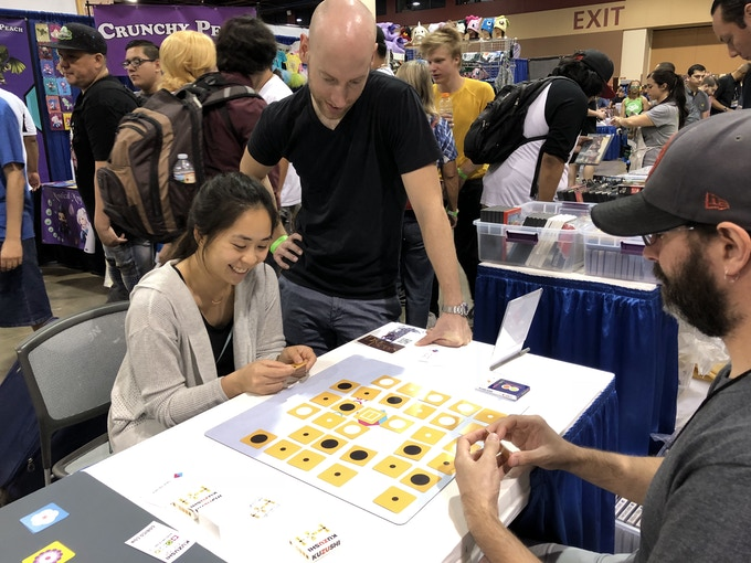 Demoing the Original Kuzushi at Game On Expo 2018