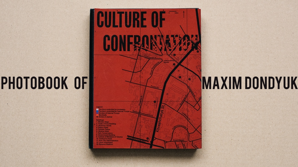 Photobook 'Culture of Confrontation' project video thumbnail