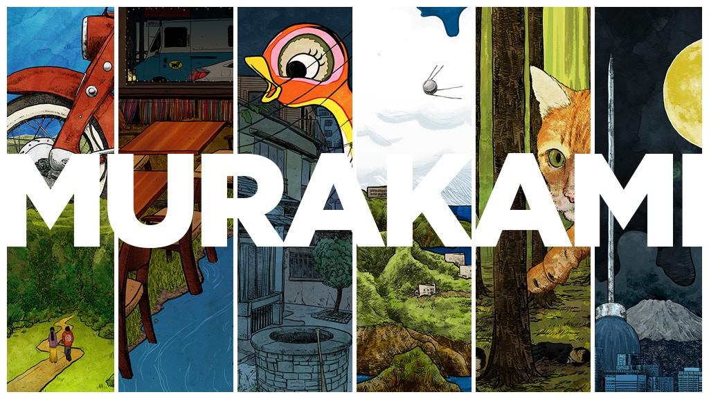Celebrating Murakami with prints